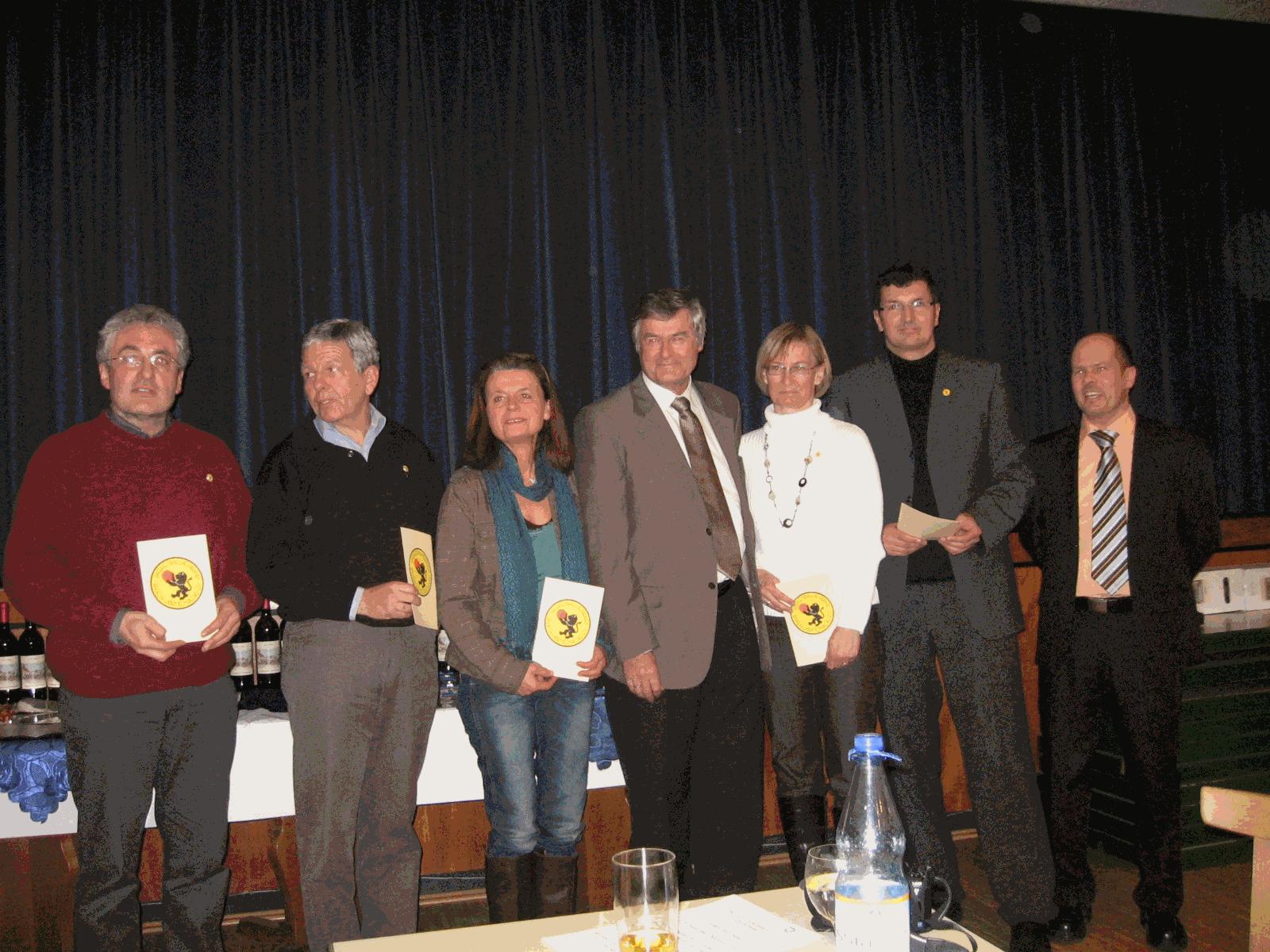 Neujahrstreffen 2009 Tg Sandhausen